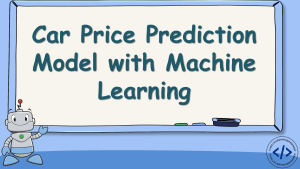 Car Price Prediction with Machine Learning