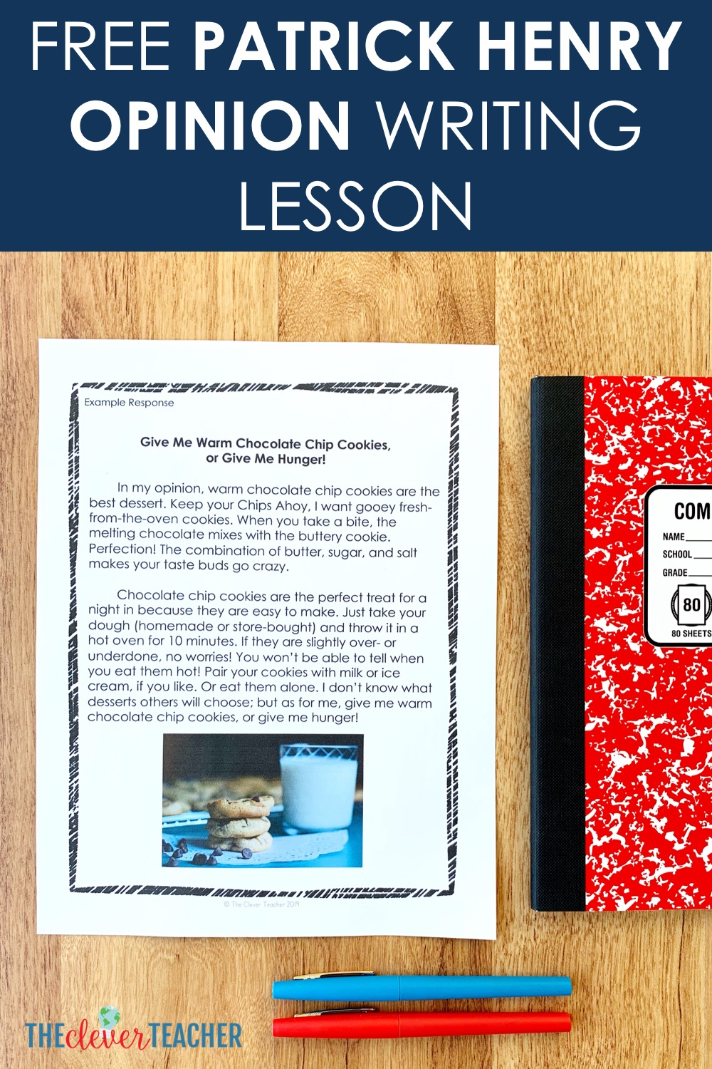 small resolution of Patrick Henry Opinion Writing Lesson (Free)