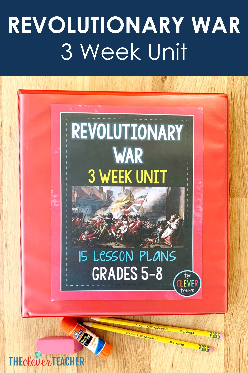 Revolutionary War Lesson Plans for 5th Grade and Middle School [ 1500 x 1000 Pixel ]