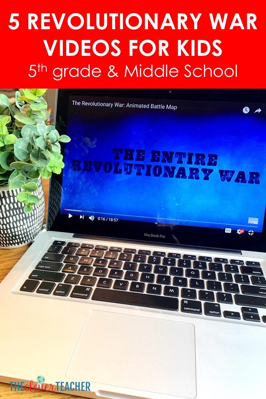 5 Revolutionary War Videos for Kids