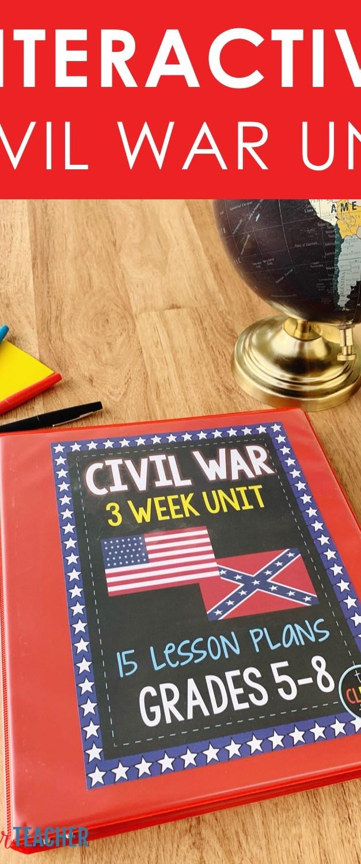 interactive civil war unit