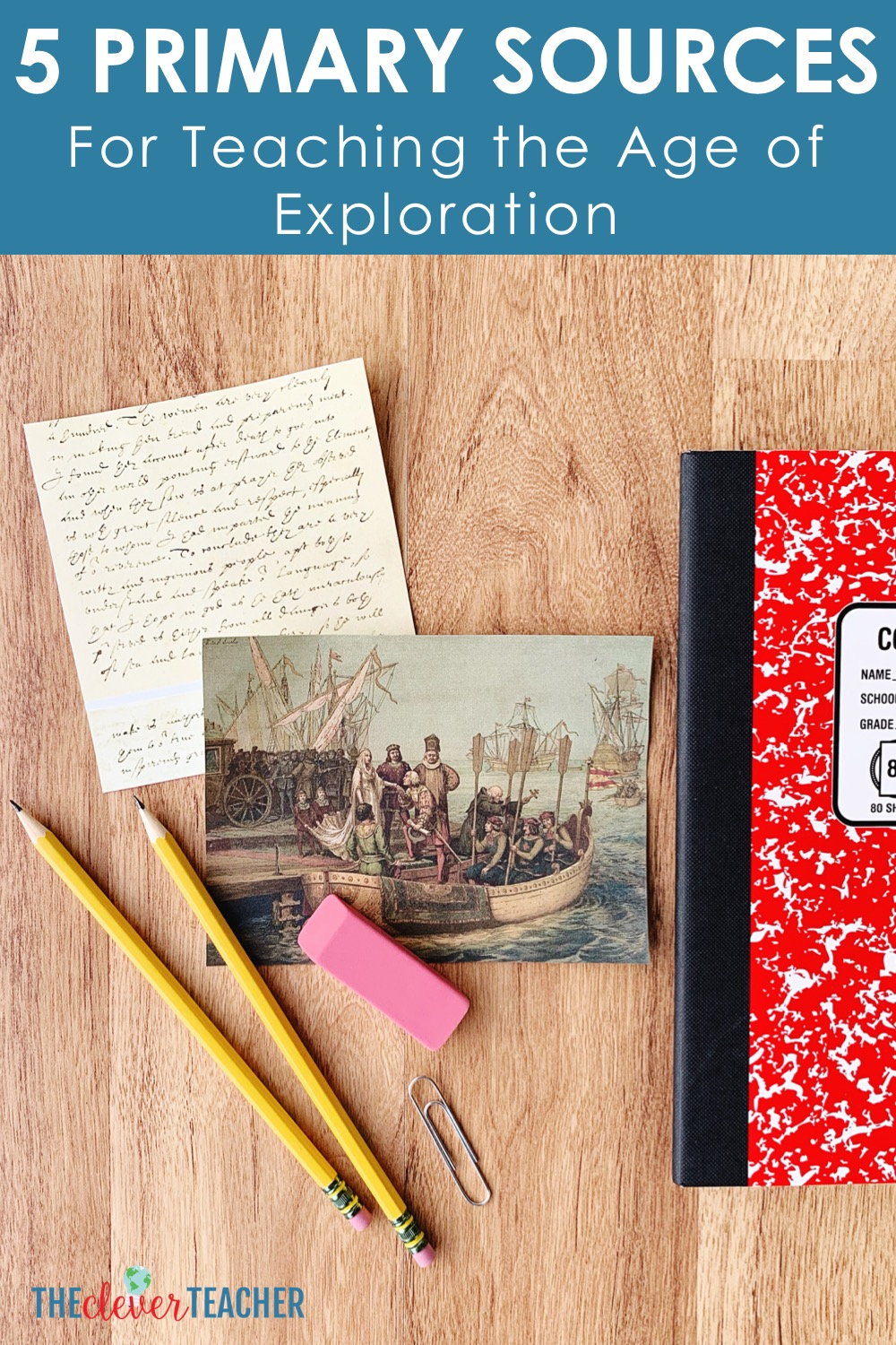 primary sources age of exploration