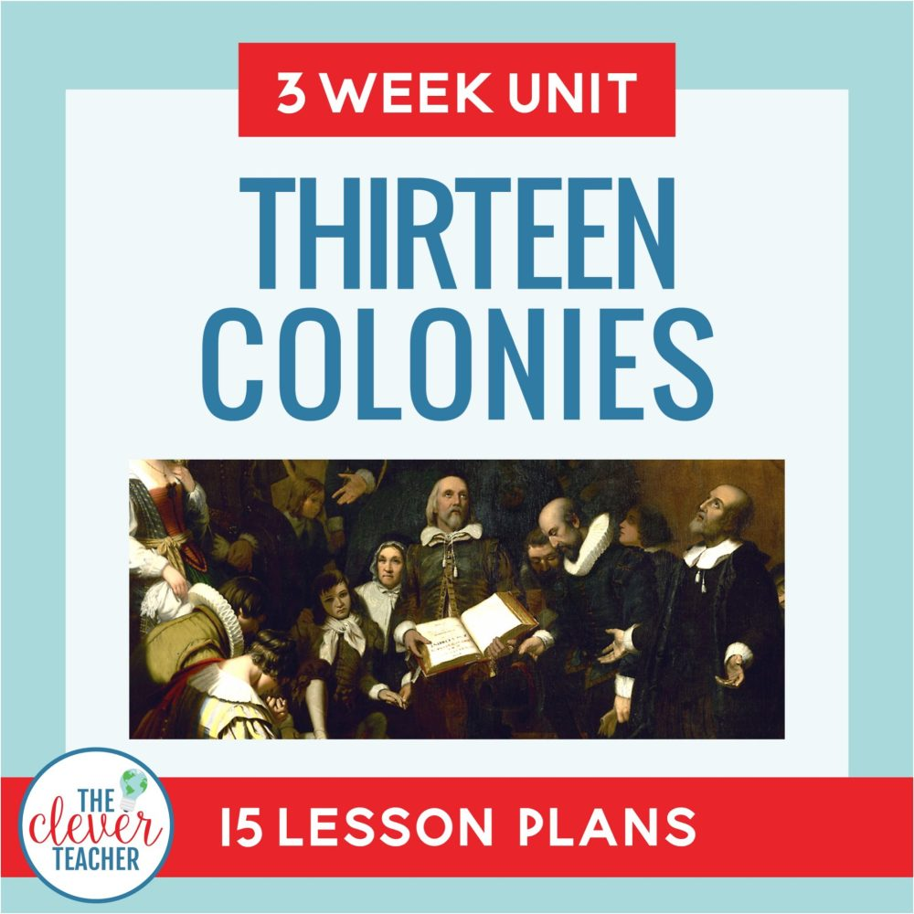 medium resolution of 13 Colonies: 3 Week Unit   Distance Learning   for Google Classroom   The  Clever Teacher