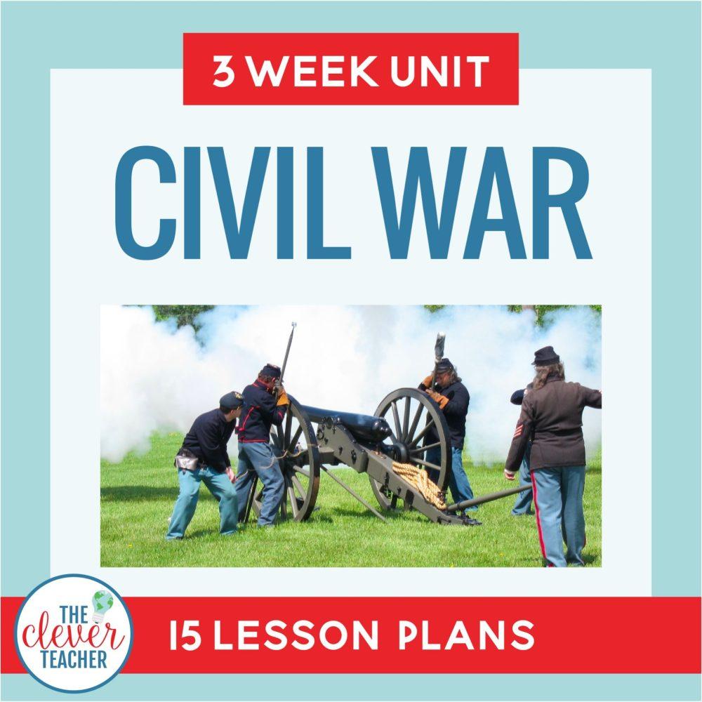 medium resolution of Civil War: 3 Week Unit   Distance Learning   for Google Classroom   The  Clever Teacher