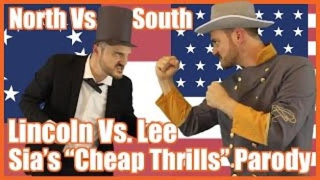 "North vs South (Sia's ""Cheap Thrills"" Parody) by Mr Betts' Class"
