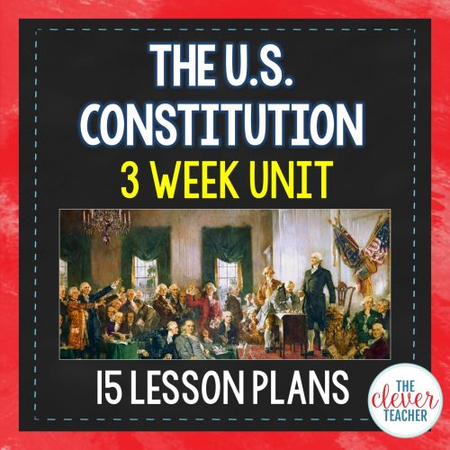 US Constitution Unit