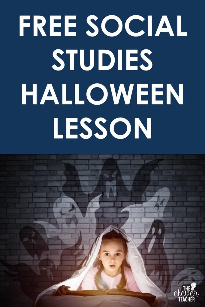 free social studies halloween lesson