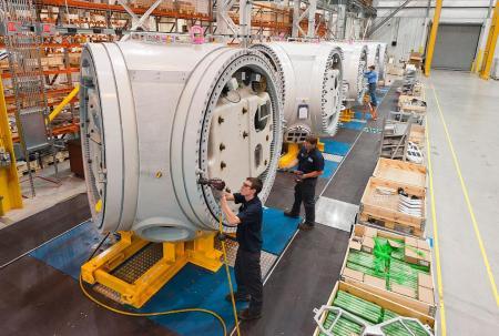 turbine manufacturing