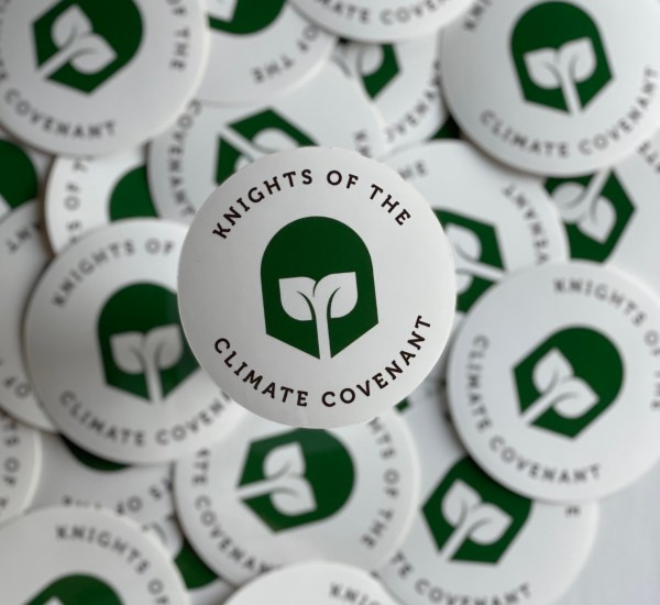 Knights of the Climate Covenant Stickers