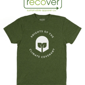 Climate Knights T-Shirt, Recover Brands logo