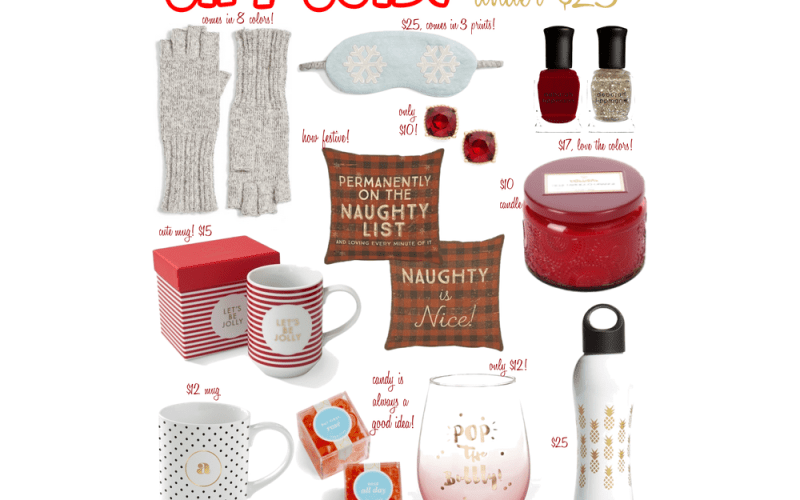Last Minute Gifts Under $25 and List of Christmas Sales