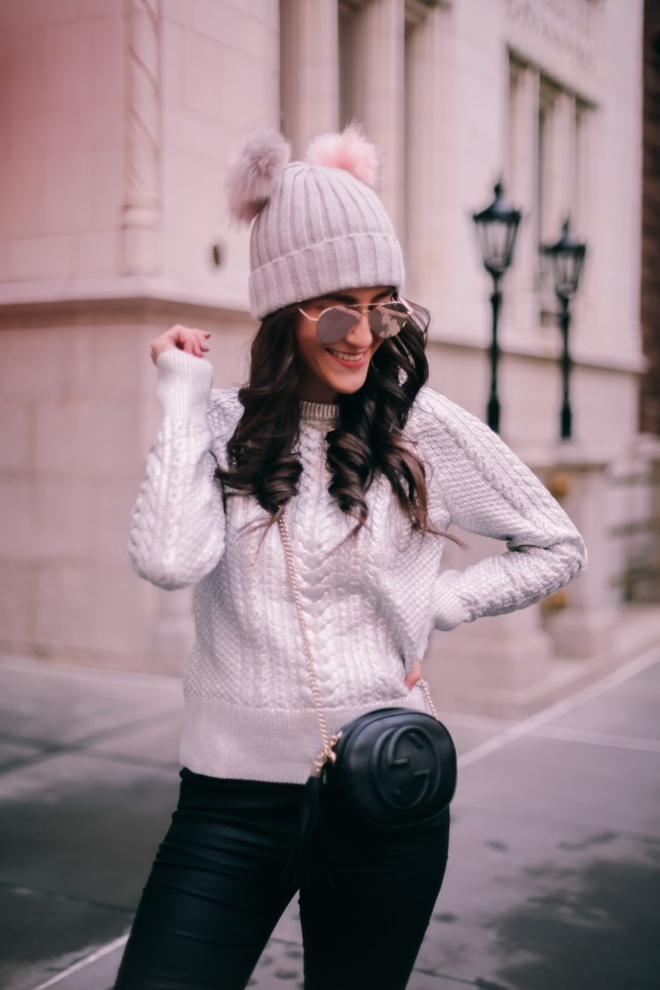 metallic-cable-knit