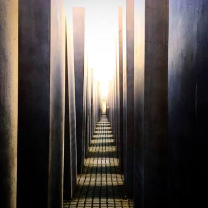 Field of Stelae, designed by Peter Eisenman.