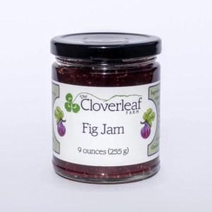 organic fig jam. 9 oz