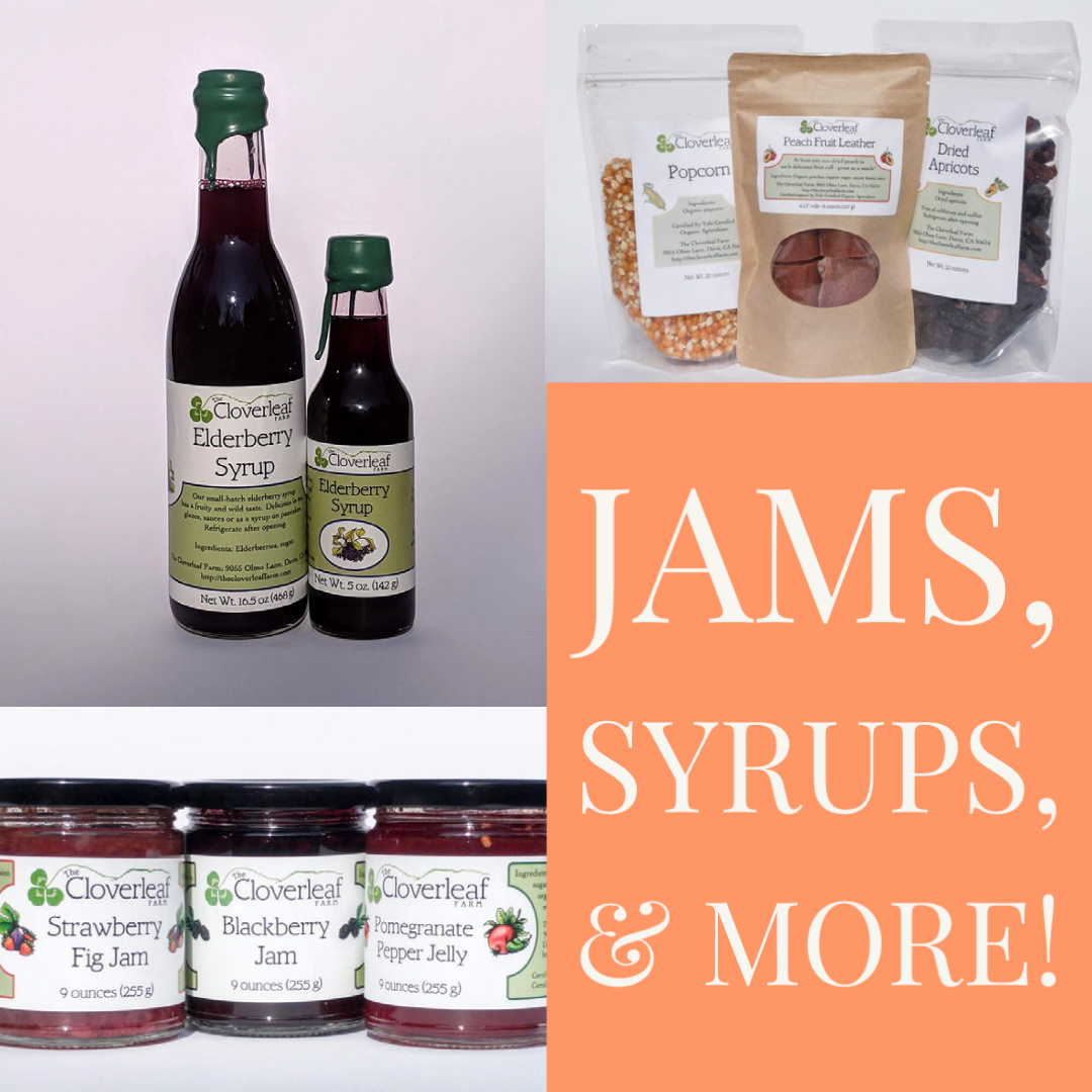 jams, syrups, & more