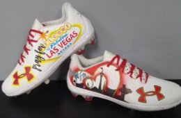 Bryce Harper Wears Vegas Cleats
