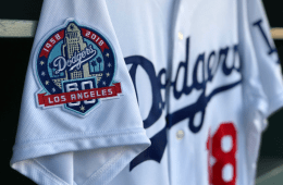 Dodgers 60th Patch 1