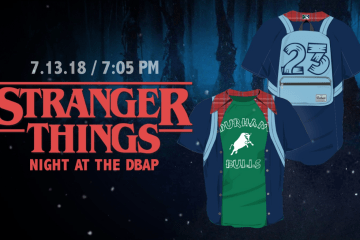 Durham Bulls Stranger Things Night 4