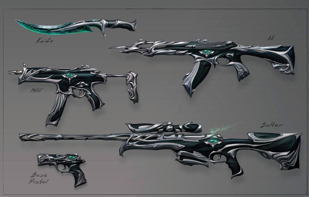 VALORANT: Revelada coleção de skins Forsaken; confira imagens