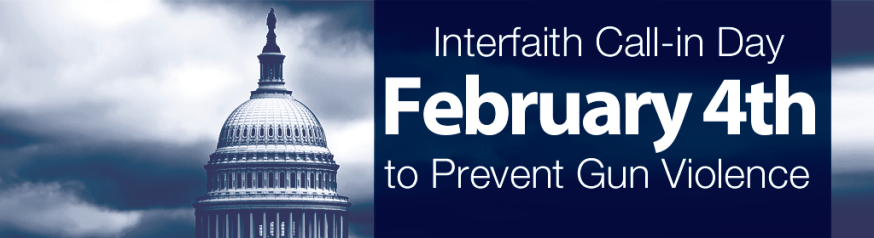 Interfaith Call-in Day to Prevent Gun Violence