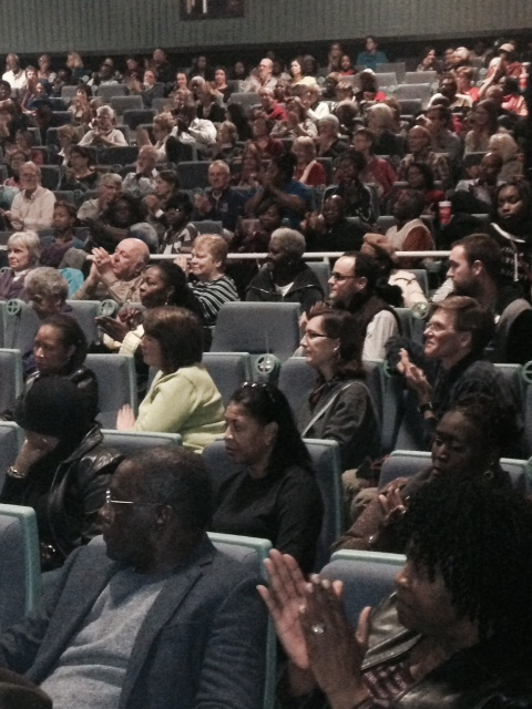 Saturday, January 10, 2015 Charity Missionary Baptist Church and Circular Congregational Church watch the movie SELMA together.