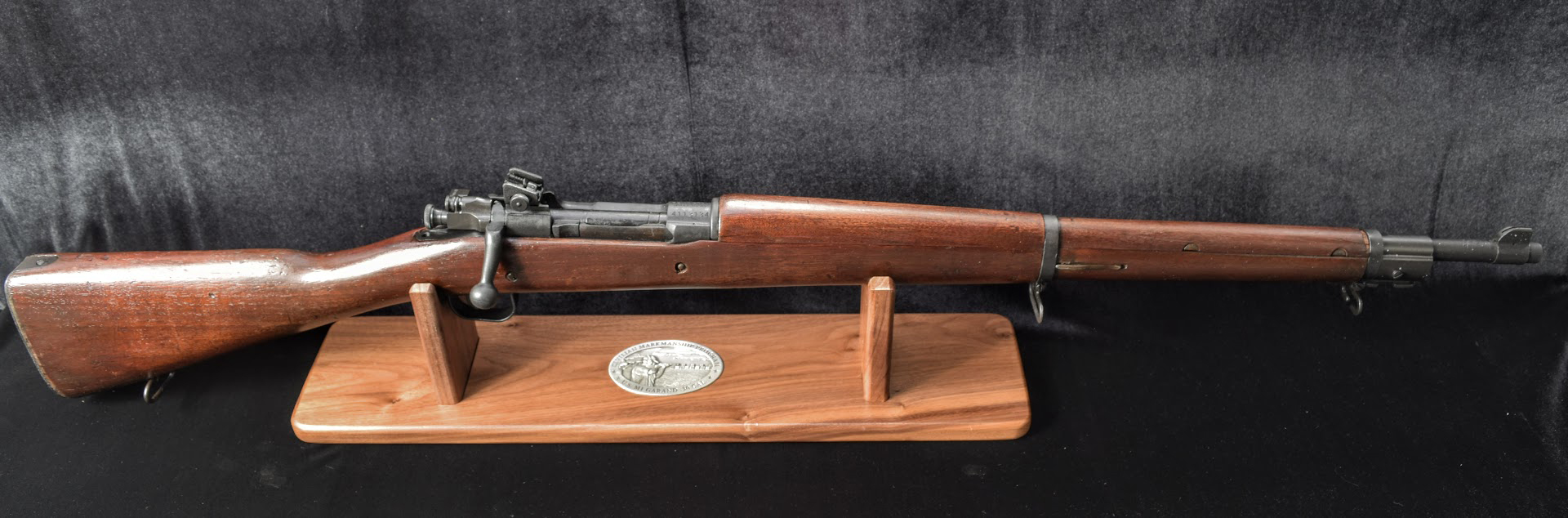The CMP offers M1 Garand rifles both for display and shooting purposes.