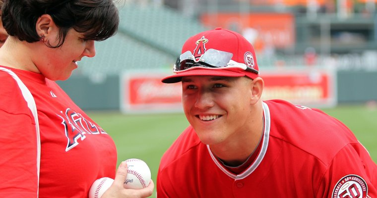 Just Because, Mike Trout