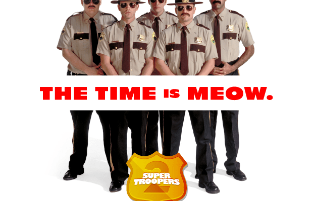 There's a Super Troopers Sequel, & We Couldn't Be More Excited