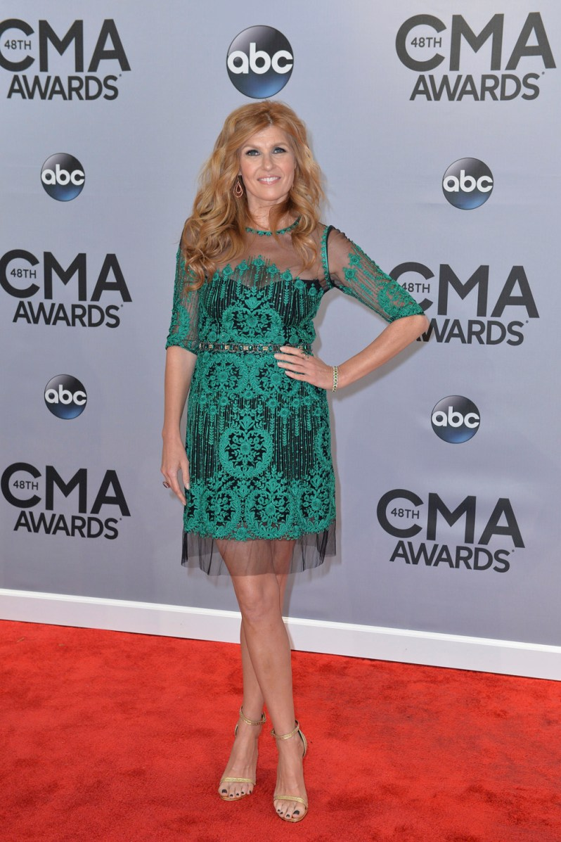 "THE 48TH ANNUAL CMA AWARDS - ""The 48th Annual CMA Awards"" airs live from the Bridgestone Arena in Nashville on WEDNESDAY, NOVEMBER 5 (8:00-11:00 PM/ET) on the ABC Television Network. (ABC/Image Group LA) CONNIE BRITTON"
