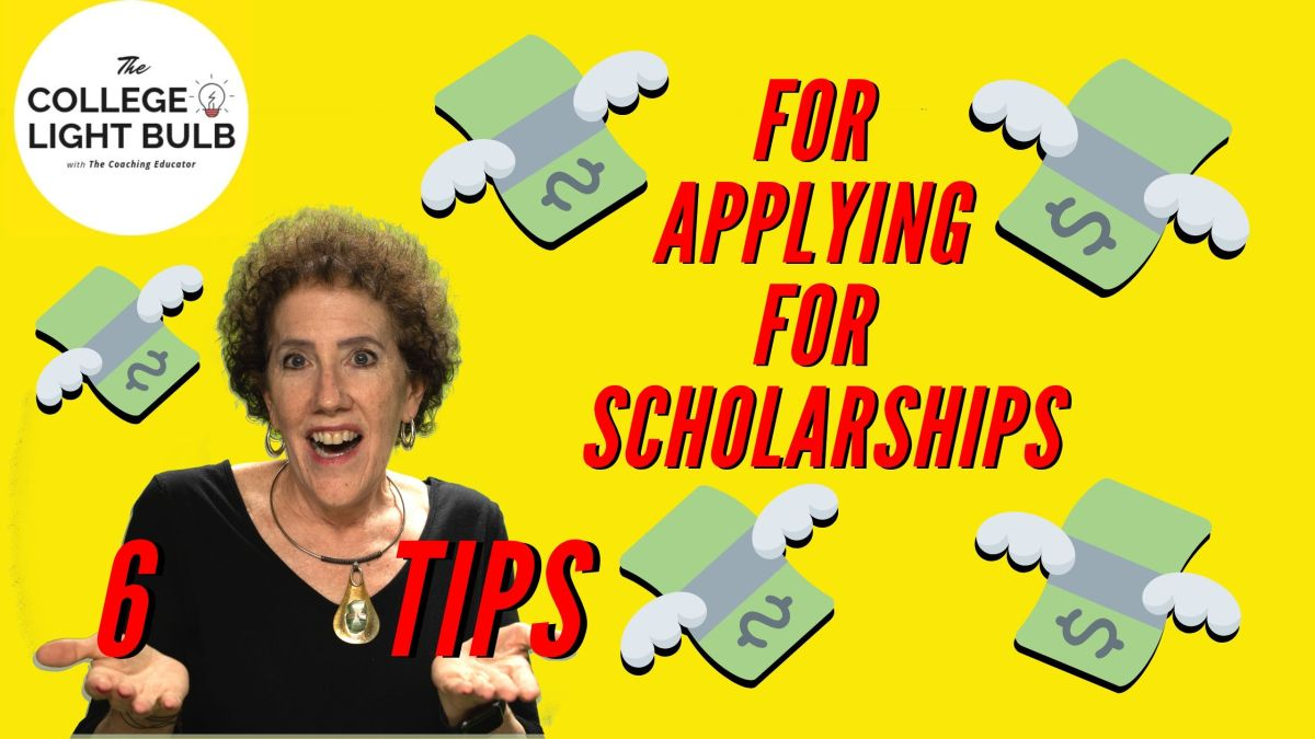 The Coaching Educator gives 6 tips on scholarships