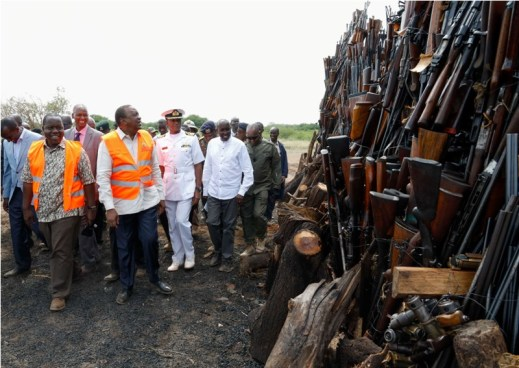 Image result for illegal small arms trade kenya uhuru""