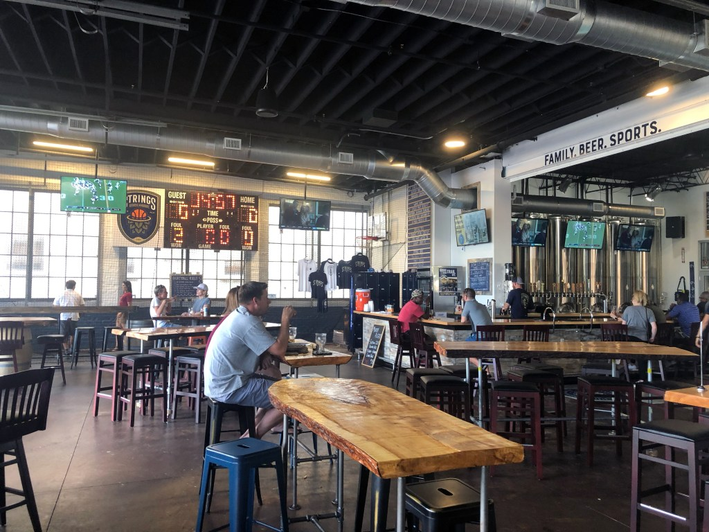 Sports Bar Meets Craft Brewing at Strings Sports Brewery