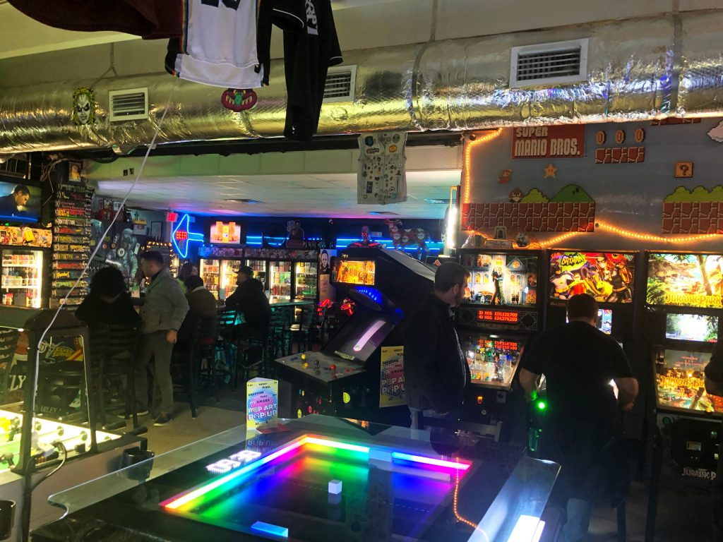 Craft Beer Meets Classic Arcade Games at Keg & Coin