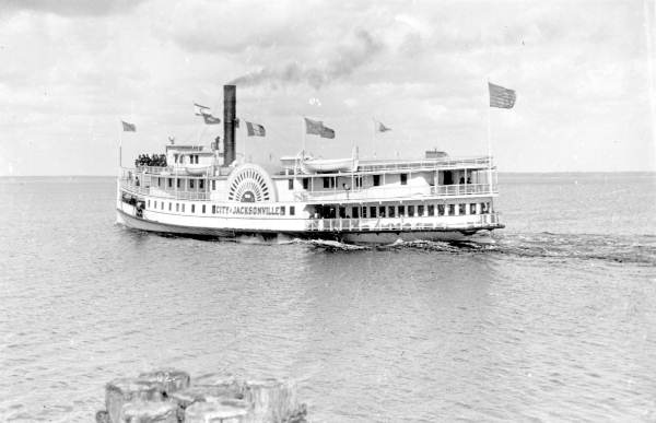 City of Jacksonville ship, DeBary Merchants Line and later Clyde Steamship Co.