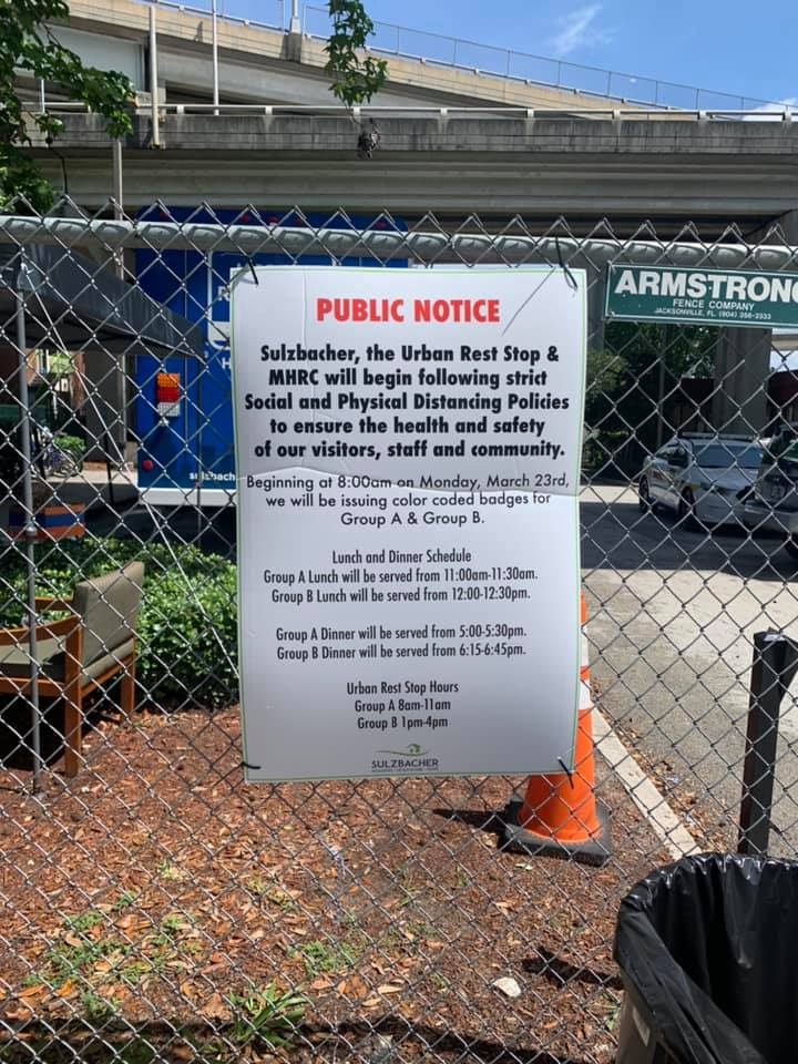 Entire Jacksonville Homeless Shelter Population Tests Negative for COVID-19