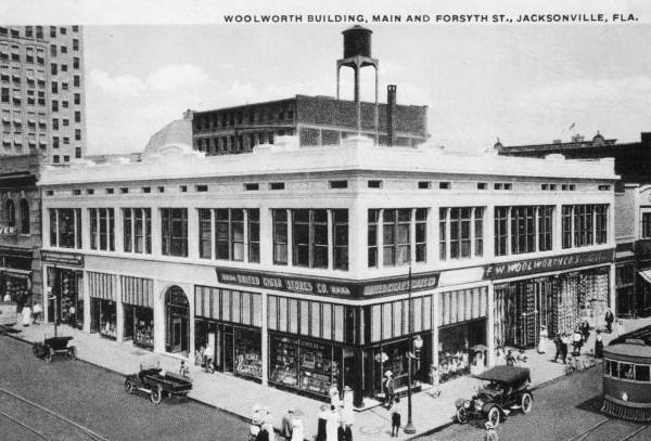 Woolworth's in downtown Jacksonville, FL