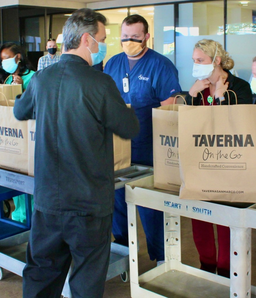 """Taverna Gives Back to First Responders with """"Meals for Medical Workers"""""""