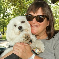 Ellen Rosenthal w/Snowball - I think he should be extradited to the US and be held accountable if he broke any of our laws.