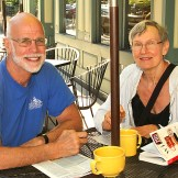 At the Twisted Tree Cafe in Asbury Park were Dan and Connie Schmalz, both of Oakridge.