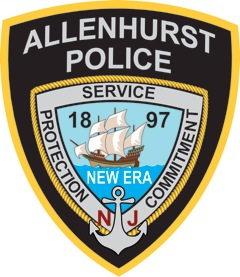 Allenhurst police patch