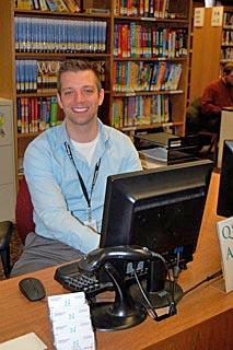 John Bonney heads outreach at the Neptune Public Library. Coaster Photo.