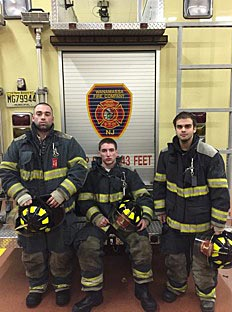 andy floros and firefighters
