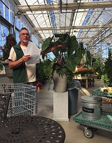 Mike Shamey of Dearborn Farms recently spoke to the members of the Allenhurst Garden Club