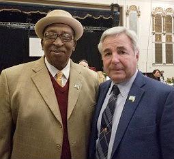 ASBURY TOGETHER: Asbury Park City Councilman Jesse Kendle and Mayor John Moor