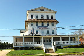 Asbury Park developer Pat Fasano is seeking approval to restore the former Hotel Powhatan on Third Avenue. Coaster photo.