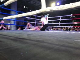 Fight 32 vs Sean Turner - Arnold - lost KO round 8