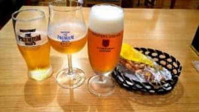 The beers of Suntory
