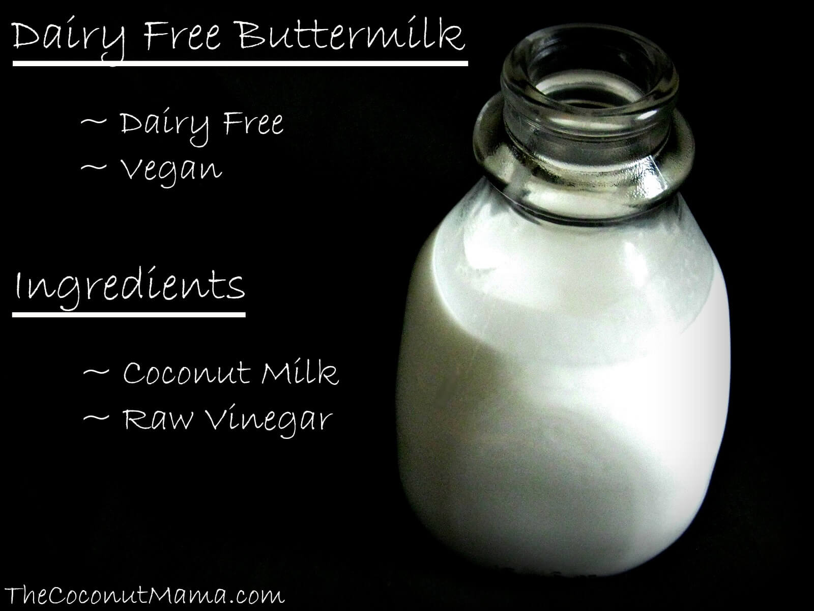 recipe: buttermilk substitute vegan [13]