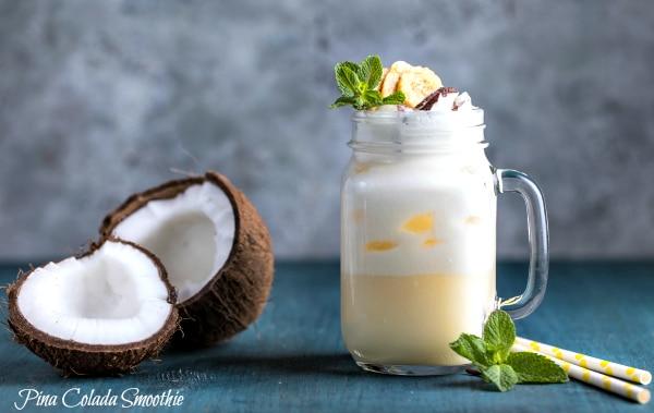 Pina Colada Smoothies - Paleo & Dairy Free!