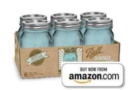 Blue Vintage Ball Jar